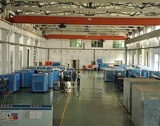 德瑞亚工厂仓库环境发货车间一角境