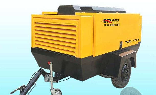 柴油移动螺杆空压机